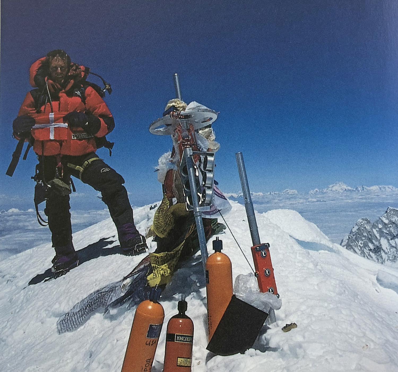 Danske Everest historie og Everest fakta